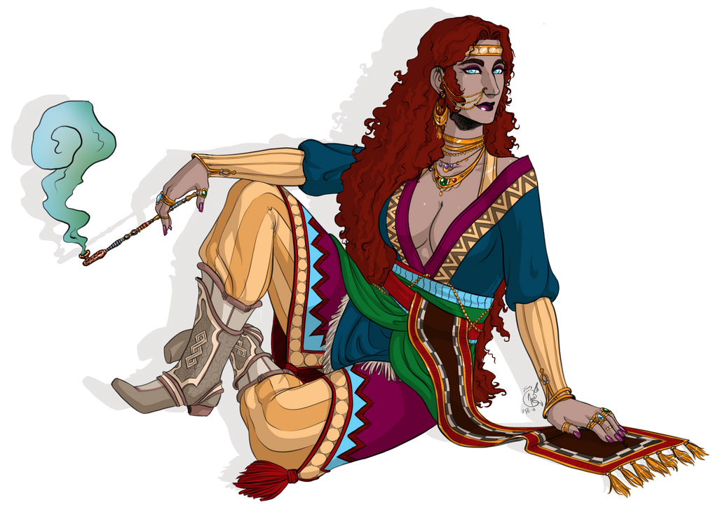 Khalida by LunaJMS