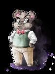 Grumpy bear by LunaJMS