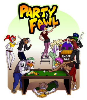 Commission- Party Fowl