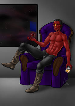 Commission- Relaxing sith