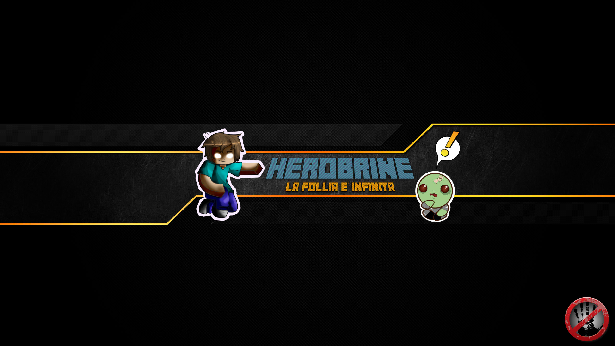 HerobrineHD Channel Art by HerobrineHD on DeviantArt
