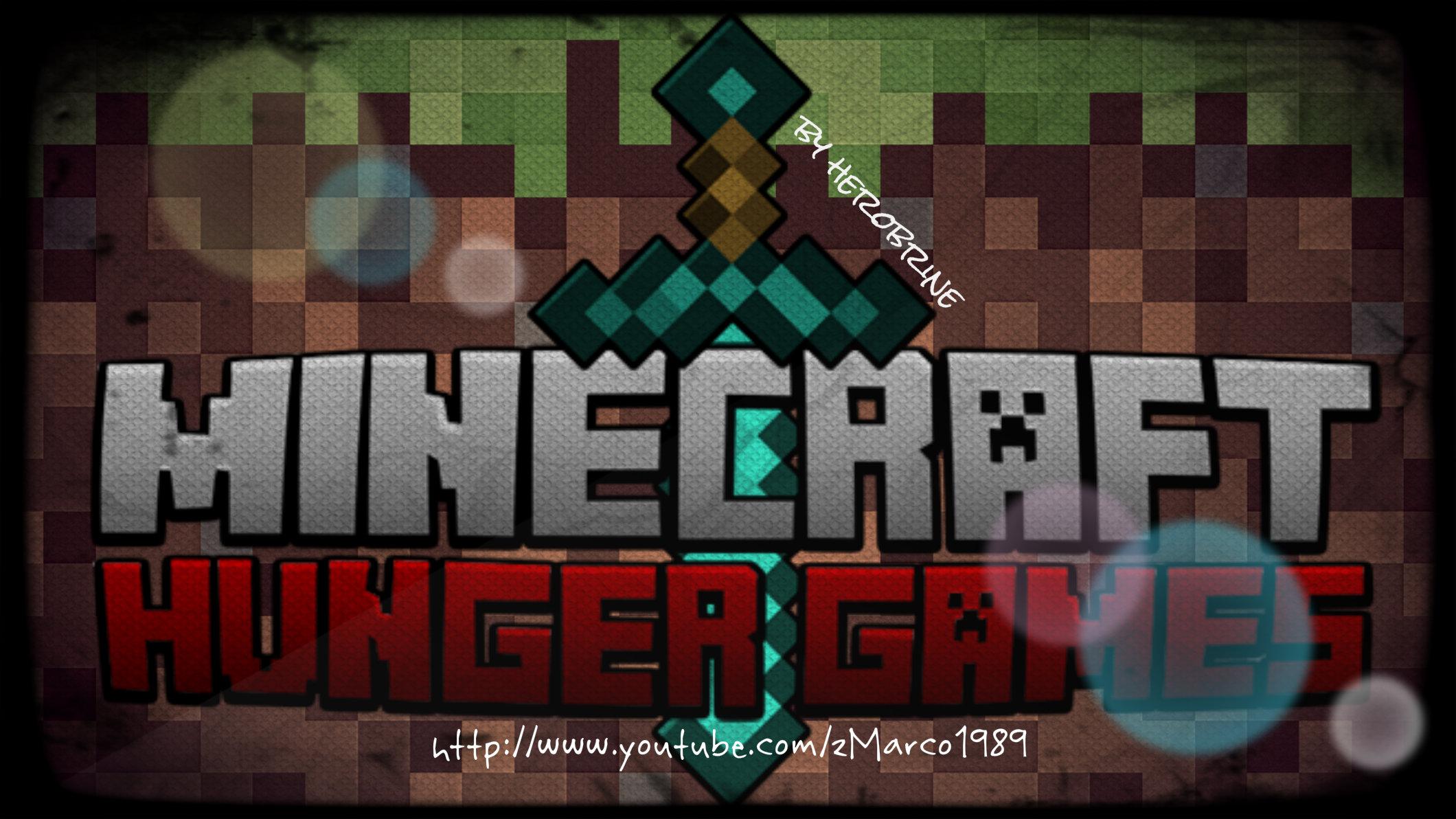 Minecraft hunger games fanart by herobrinehd on deviantart for Mine craft hunger games