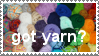 Got Yarn? Stamp by minami63