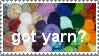 Got Yarn? Stamp by minami63