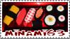 Crochet Sushi stamp by minami63