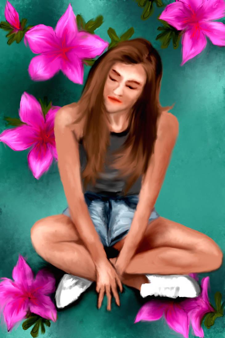 Thinking in Azalia by samilz