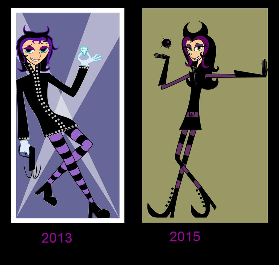 Two Year Redraw: Madeline by Decadent-Depraved