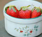 Berries in bowl by bridgetbright