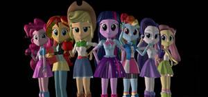 The Equestria Girls!