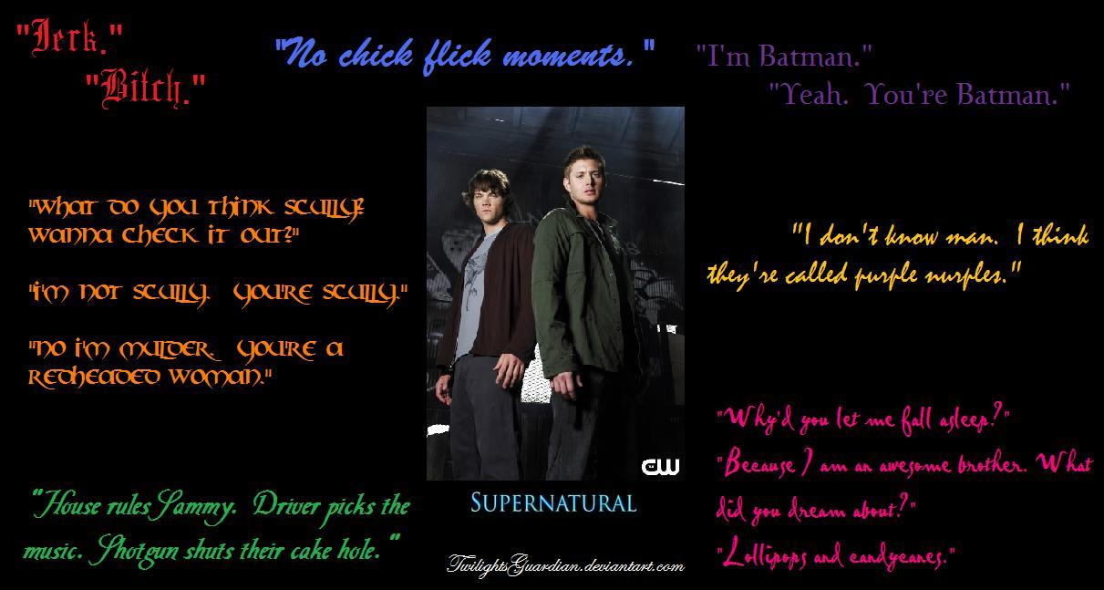 Supernatural Quotes. QuotesGram