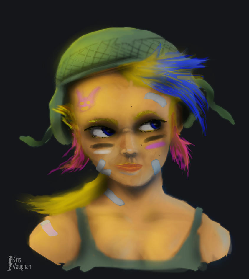 Tank Girl by BasenjiS7