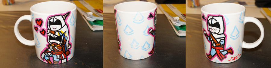 Assassins Creed Mug by fuselfurz