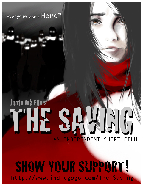 THE SAVING movie poster 1 by Sapphire4723