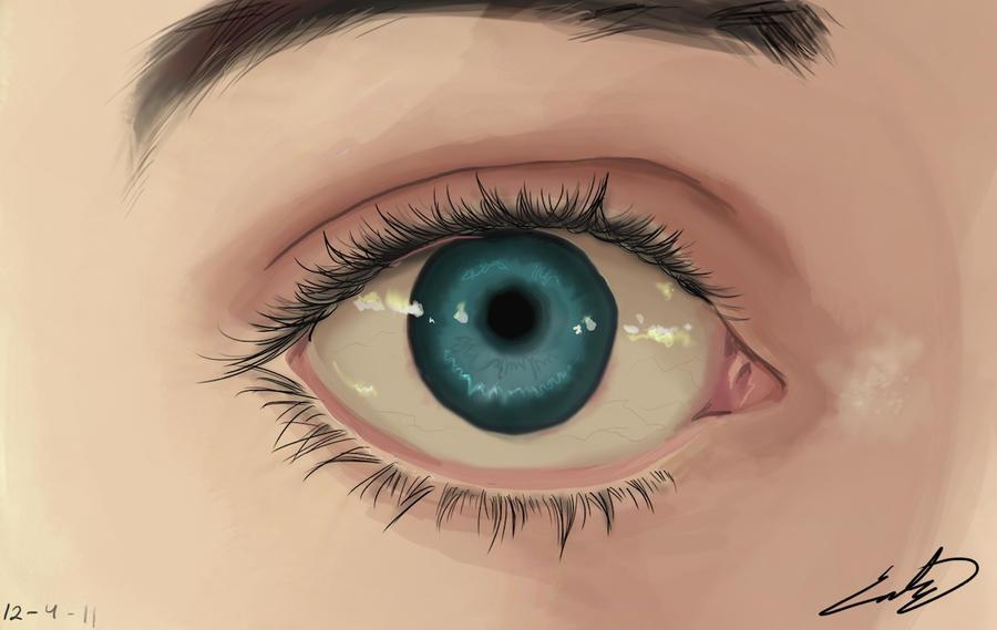 My eye by Sapphire4723
