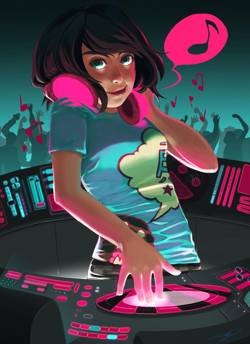 DJ Again by Sapphire4723