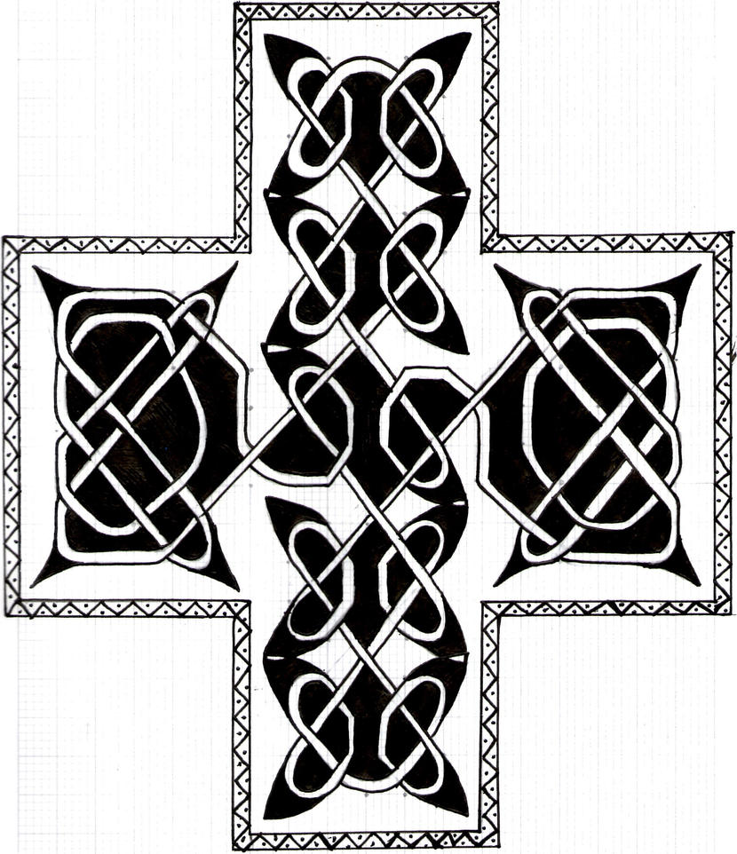 Celtic Knot Art- Finished by TopHatSketcher