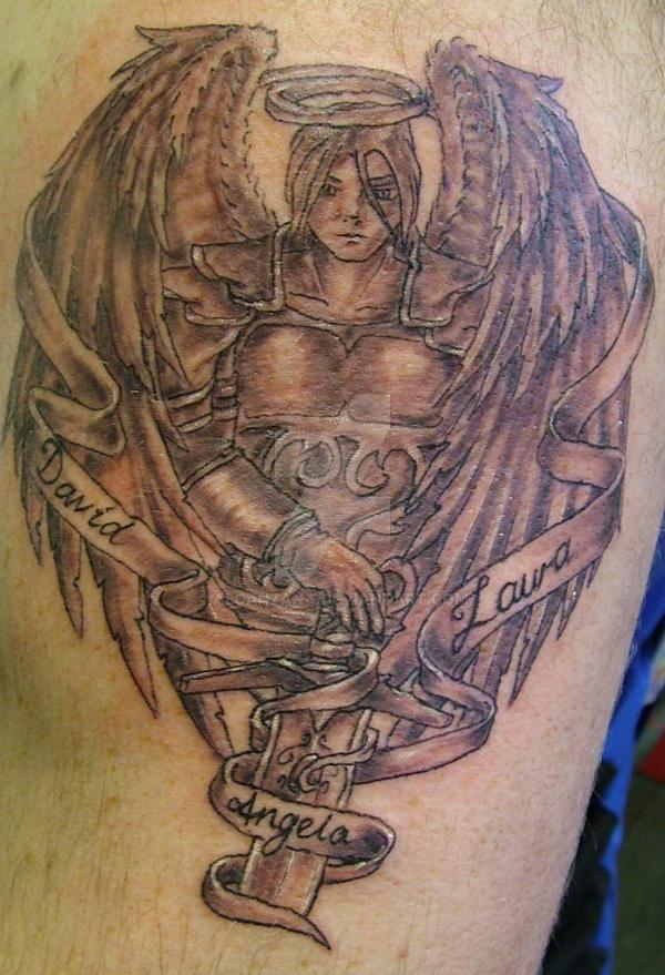 Guardien Angel by Alcanzana