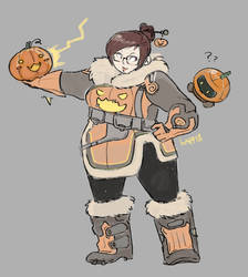 Mei's Halloween Trick (1/4) by The-Kappass