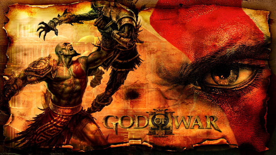 wallpaper god of war 3. God of War 3 - wallpaper by