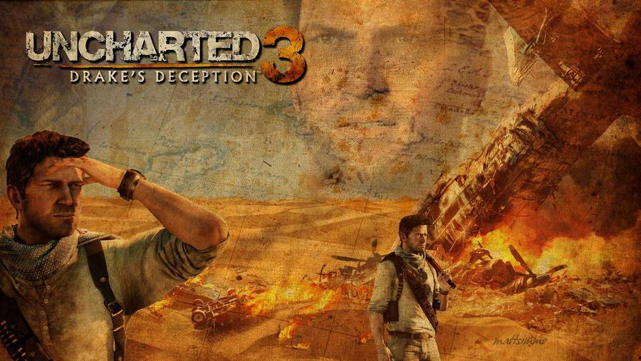 Uncharted 3 Wallpaper By Mattsimmo On Deviantart