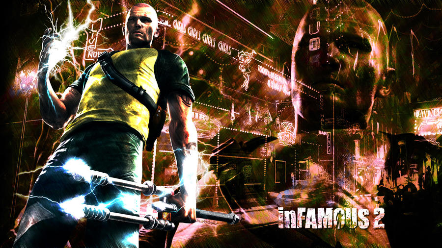 hd wallpaper 1080p. Infamous 2 HD Wallpaper ,1080p