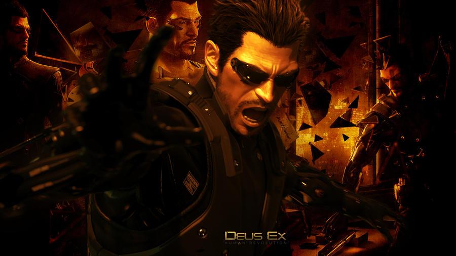 Deus Ex - Wallpaper by mattsimmo