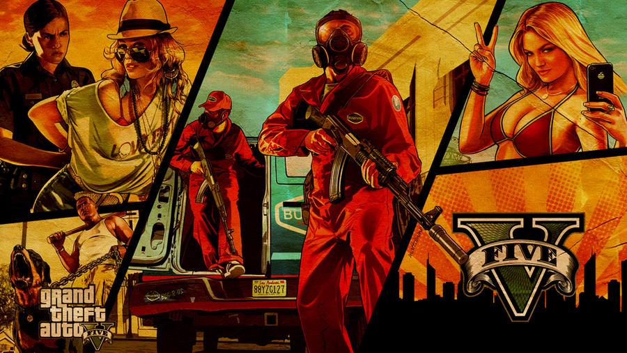 GTA V Wallpaper by mattsimmo on DeviantArt