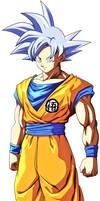 Goku Ultra Instinct v2 Render