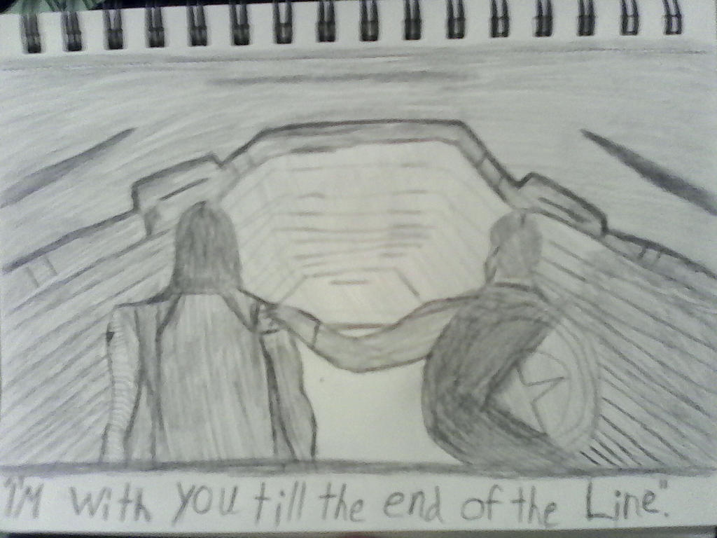 I'm with you till the end of the line by mysticfantsy