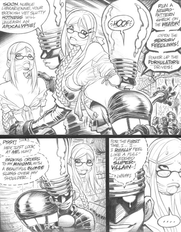 Bondage-riffic EMPOWERED page by AdamWarren