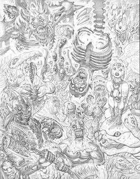 Newer EXALTED cover pencils