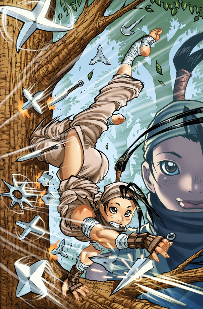 IBUKI issue3 alt-cover colors by AdamWarren
