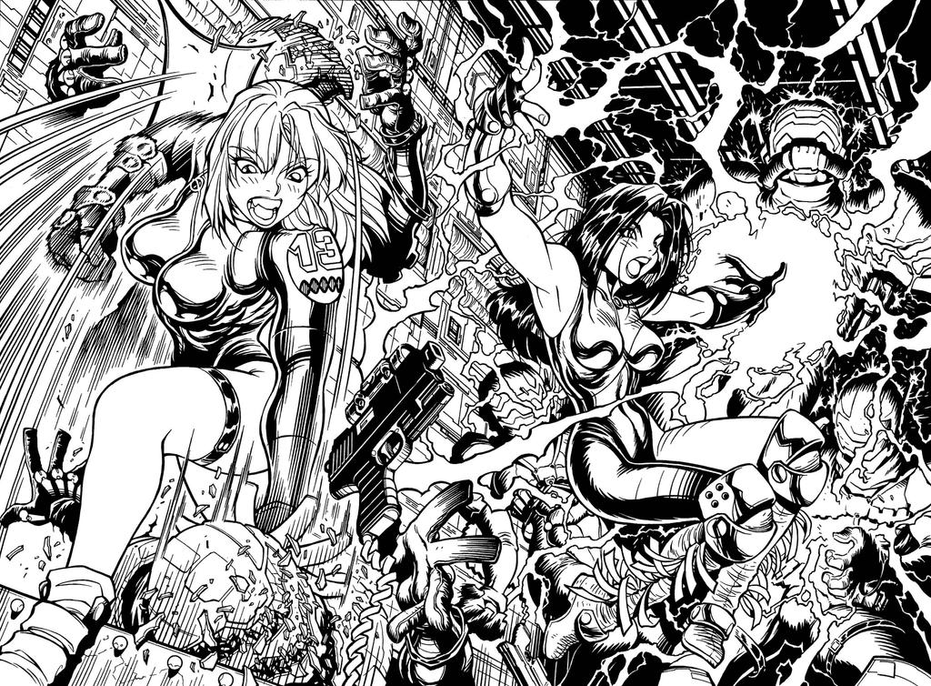 Illo from the GEN13 videogame