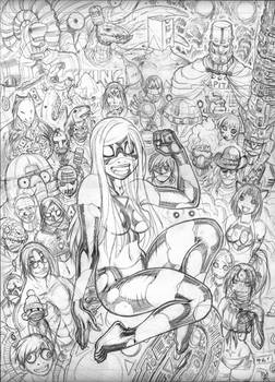 EMPOWERED DELUXE cover pencils