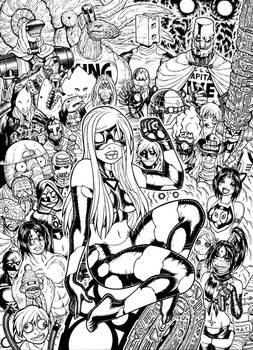 EMPOWERED DELUXE cover inks