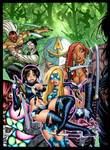 EMPOWERED vol. 7's cover, in luxurious color