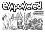 EMPOWERED 7's title-page spread, plus credits