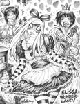 ELISSA (aka EMPOWERED) in WONDERLAND