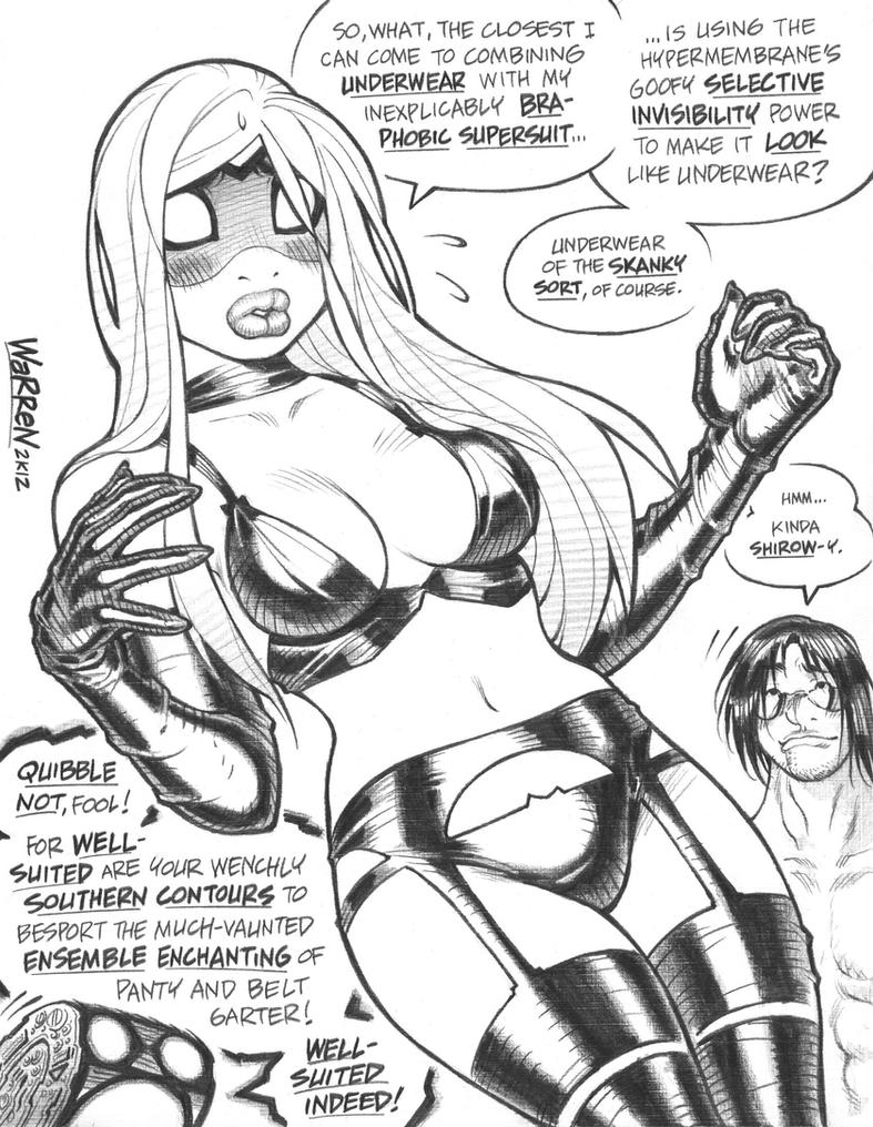 EMPOWERED's alternate costume design, 2012 by AdamWarren