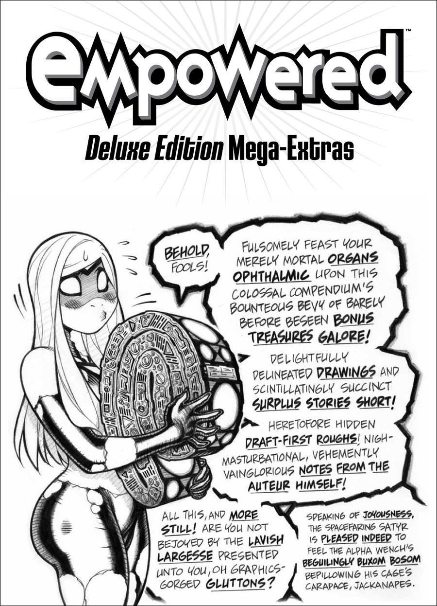 EMPOWERED's DEMONWOLF on EMP DELUXE vol.2 extras by AdamWarren