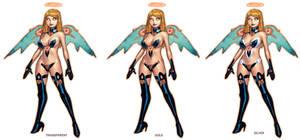 EMPOWERED: HELLBENT OR HEAVENSENT Angel design