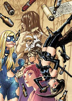 EMPOWERED: 'NINE BEERS WITH NINJETTE' cover by AdamWarren