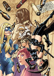 EMPOWERED: 'NINE BEERS WITH NINJETTE' cover