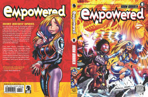 EMPOWERED vol.8's front + back cover