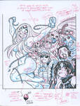 Color guide for EMPOWERED UNCHAINED cover