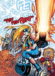 Cover art for Nov.25's EMPOWERED: PEW PEW PEW!