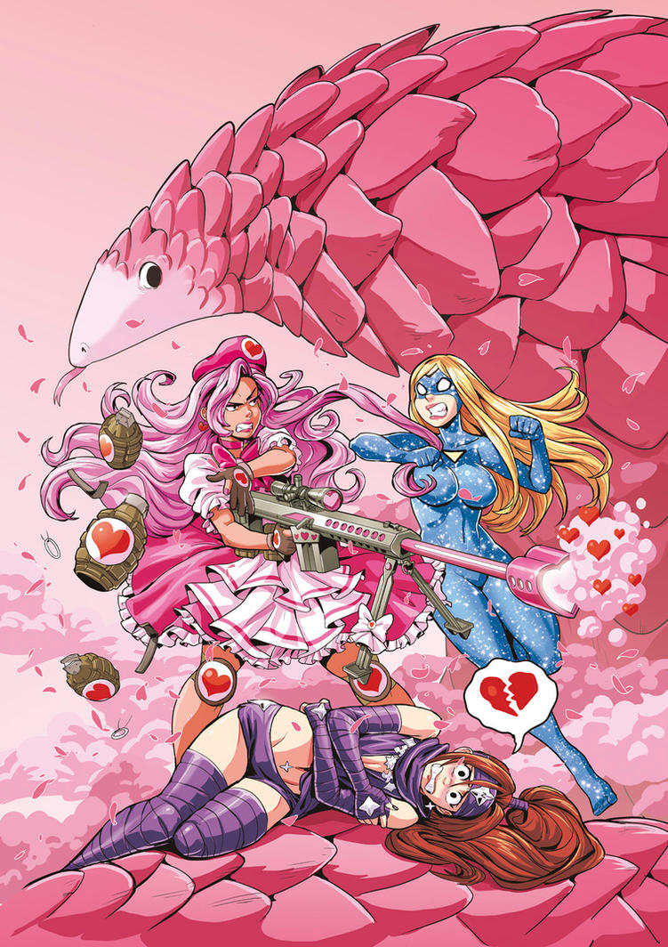 EMPOWERED AND THE SOLDIER OF LOVE TPB cover art by AdamWarren