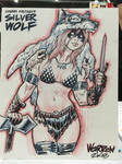 OC con sketch from Motor City Comic-Con