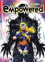 EMPOWERED vol.11 cover illo by AdamWarren
