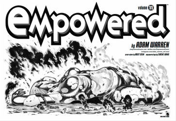 EMPOWERED vol.11 (out now!) title spread